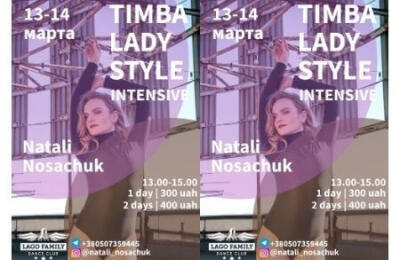 Timba Lady style 13-14 March